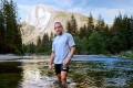 Charlie Engle in California's Yosemite National Park.