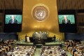 The 71st Session of the United Nations General Assembly at UN headquarters in New York. Photo: EPA