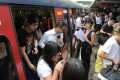 The incident happened at Kowloon Tong station. Photo: SCMP Pictures