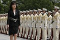 Japan's new Defence Minister Tomomi Inada. Photo: AP