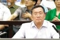 Lawyer Zhou Shifeng faces subversion charges in a court in Tianjin in August. Photo: CCTV