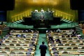 The United Nations General Assembly in the Manhattan. Photo: Reuters