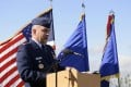 US Air Force Colonel Eugene Caughey at Schriever Air Force Base, Colorado. Caughey, who was charged with rape and other alleged crimes, was found dead in his Colorado Springs home, on Sunday. Photo: AP