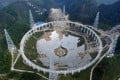 The telescope is located in Guizhou province in China. Photo: SCMP Pictures