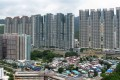 The scammers posed as a flat owner selling a property in residential estate Festival City in Tai Wai . Photo: SCMP Pictures