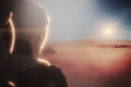 An illustration of SpaceX colonists landing on Mars. Photo: SpaceX/YouTube