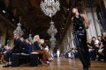Lanvin, and new designer Bouchra Jarrar's fashion week debut, had tongues wagging in Paris. Photo: AFP