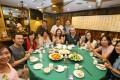 Members of Meat Free Hong Kong enjoy a vegetarian meal in Central. Photos: David Wong