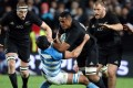 Bruising loose forward Jerome Kaino is likely to be back for the All Blacks for their Rugby Championship match against the Springboks in Durban. Photo: AFP