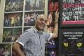 Mohamed Drissi, musical veteran and professional musical choreographer at his studio in San Po Kong. Photo: Edward Wong