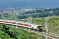 A test is carried out on the Chinese-built Ethiopia-Djibouti railway near Addis Ababa this week. Photo: Xinhua