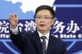 An Fengshan, spokesman for the mainland Taiwan Affairs Office, says Beijing remains steadfast on opposing any 'Taiwan independence'. Photo: Xinhua