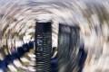 Centre of a vortex? The headquarters of Deutsche Bank in Frankfurt, Germany. Photo: AP