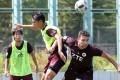 Hong Kong Pegasus players training at Tsing Yi Sports Ground on Thursday. Photos: Dickson Lee