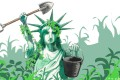 Americans tended to the honourable, if pedestrian, chore of pulling out destructive weeds, ministering to our allies' spatial and nutrient requirements, and sprinkled around garden-variety plant food. Illustration: Craig Stephens