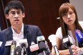 """All eyes will be on Youngspiration lawmakers-elect Sixtus """"Baggio"""" Leung and Yau Wai-ching when they take their oaths in Legco on Wednesday. Photo: K. Y. Cheng"""