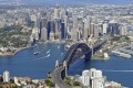 An aerial view of Sydney. Australia's Treasurer Scott Morrison maintains the key driver behind house price rises has been the lack of supply at a time of low rates. Photo: Getty Images/iStockphoto
