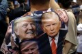 A supporter of Republican presidential nominee Donald Trump attends a campaign rally in Reno, Nevada, last week. Photo: Reuters