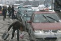 Hangzhou traffic can grind to standstill in bad weather. Photo: Reuters