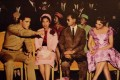 Thailand's King Bhumibol and Queen Sirikit (middle) with Elvis Presley (left) in 1960.