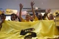 Bersih, a coalition of Malaysian NGOs and activist groups, are planning a November 19 rally in the capital to demand the scandal-tainted prime minister's resignation. Photo: AFP