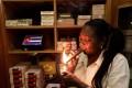 Staff member Juanita, 62, smokes a hand-rolled cigar at a hotel in Havana, Cuba. Photo: Reuters