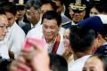 Philippine President Rodrigo Duterte is to meet China's President Xi Jinping in Beijing. Photo: AP