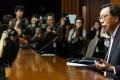 "Legco president Andrew Leung Kwan-yuen called the walkout ""unfortunate"". Photo: David Wong"