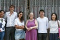 The people from Localhood – (from left) Weinni Mussie, volunteer; Arnaud Francillon, volunteer; Pooja Dhyani, founder; Sue Brattle, member; Desmond Chung, volunteer; and Michelle Yip, member. Photo: Jonathan Wong