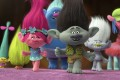 Branch (voiced by Justin Timberlake) and Poppy (Anna Kendrick) take the lead in the animated film Trolls (category I), directed by Walt Dohrn and Mike Mitchell.