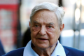 George Soros arrives to speak at the Open Russia Club in London earlier this year. Photo: REUTERS/Luke MacGregor