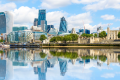 The skyline in the financial district of London. Photo: Shutterstock