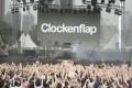 Dan Deacon performs during Clockenflap 2014 in Hong Kong.