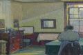 Harold Gilman's Interior (Mrs Mounter) (1917). Photo: Sotheby's