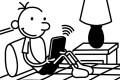 Greg Heffley, the Wimpy Kid.