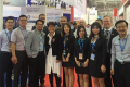 B.C. International Trade Minister Teresa Wat (in white dress) at a Zhuhai, China aerospace trade fair in a photograph published November 1. Photo: B.C. Government Flickr