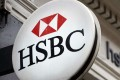 HSBC reported a 7 per cent rise in pre-tax profit on an adjusted basis for the third quarter. Photo: AFP