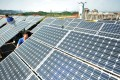 Beijing has set the targeted installed capacity for solar power at 110GW by 2020, up from 43.2GW at the end of last year. Photo: Reuters