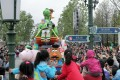 Tourists gather to watch a parade featuring Toy Story characters at Shanghai Disneyland. Photo: SCMP Pictures