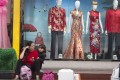 Mannequins display traditional Chinese dresses at a shop in Beijing. Photo: AP