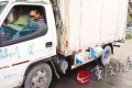 Authorities noticed the overloaded truck when the driver stopped at a toll gate. Photo: SCMP Pictures