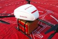 A JD.com drone about to deliver goods in China on Singles' Day, last Friday. Photo: SCMPOST