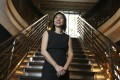 Author and journalist Cheryl Tan at the Kee Club in Central, Hong Kong. Photo: Chen Xiaomei