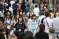 Shoppers in Causeway Bay, one of the places being considered for development of underground retail spaces. Photo: K. Y. Cheng