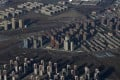An aerial view of apartment blocks in Beijing. Photo: Reuters