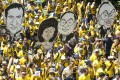 Activists from the Coalition for Clean and Fair Elections (Bersih), march during a rally in Kuala Lumpur. Photo: AP