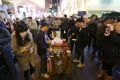 For years, hawkers have lined the streets of Mong Kok during the Lunar New Year. Photo: Nora Tam