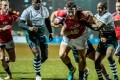 Ally Maclay drives Hong Kong forward against Zimbabwe in the Cup of Nations. Photo: SCMP Pictures