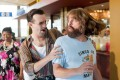 Jason Sudeikis (left) and Zach Galifianakis star in Masterminds (category IIA), directed by Jared Hess.