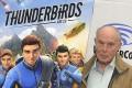 David Graham at the Amazon Original Series Thunderbirds Are Go Panel at LA's WonderCon held last March. Photo: AFP